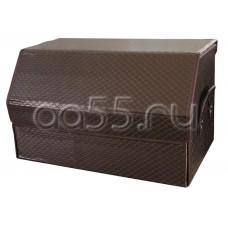 Органайзер в багажник коричневый